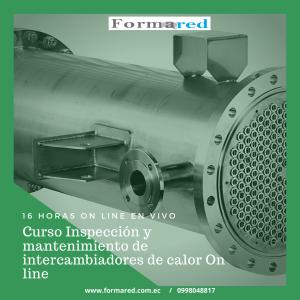 Inspección y mantenimiento de intercambiadores de calor